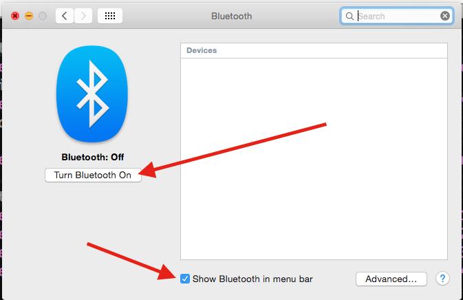 Bluetooth Prefs