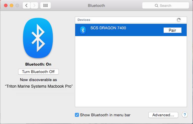 Pair to Bluetooth