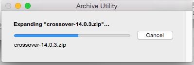 Unarchiving Folder